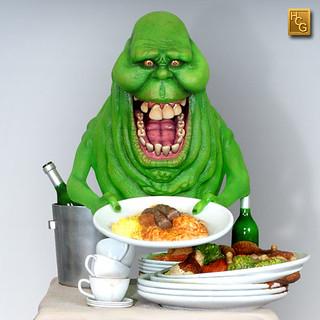 Hollywood Collectibles Group【貪吃史萊姆】Ghostbusters Slimer 1/4 比例雕像作品 HCG 限定版