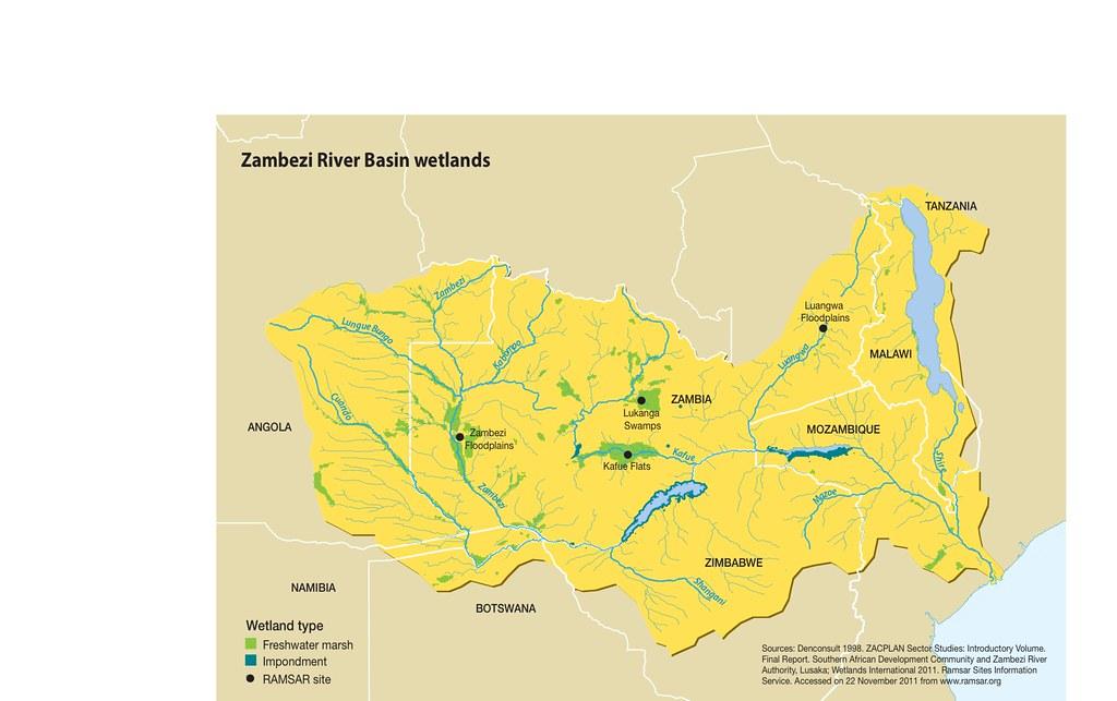Zambezi River Basin wetlands GRIDArendal