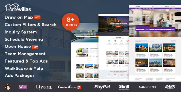 Home Villas v1.2 - Real Estate WordPress Theme