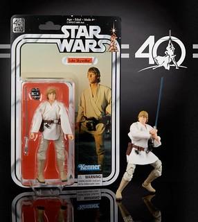 孩之寶 - 黑標6吋人物系列《星際大戰》40週年紀念版 Star Wars 40th Anniversary Black Series Action Figure