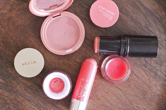beauty edit: cream blushers