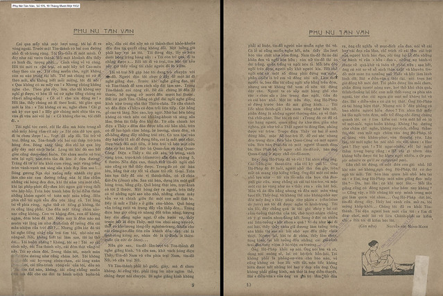Phụ Nữ Tân Văn, Số 176 - 10 Tháng Mười Một 1932 (3) - HAI NGÀY Ở THÁNH THẤT CAO ĐÀI