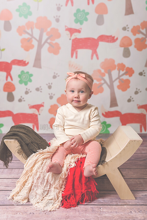 Autumn Woodland Fall Photography Backdrops Boys Girls Baby Newborn Child Photography