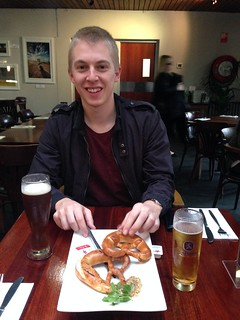 Pretzels at German Arms, Hahndorf