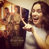 regram @daisyridley Excuse my teeth but ERMAGERD how cool is this poster!!! #D23EXPO #starwars #theforceawakens