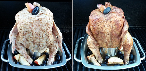 Beer Can Chicken in the Broil King Imperial™ Chicken Roaster