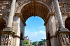 Forum Through the Arch of Septimius Severus