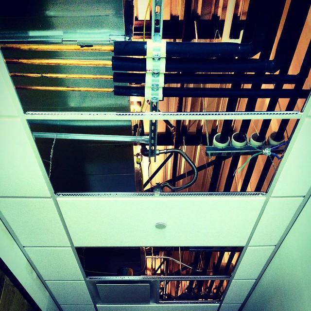 Looking for aliens. #aliens #structure #building #conduit #hallway #hidden