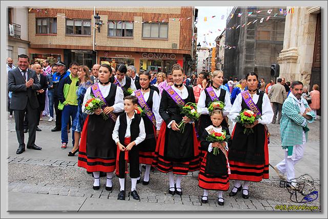 Briviesca en Fiestas 2.015 Procesión del Rosario y canto popular de la Salve (1)