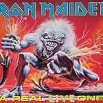 "IRON MAIDEN A Real Live One Bruce Dickinson 12"" Vinyl LP"
