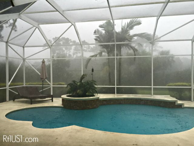 Hurricane Erika, August 30 South Florida