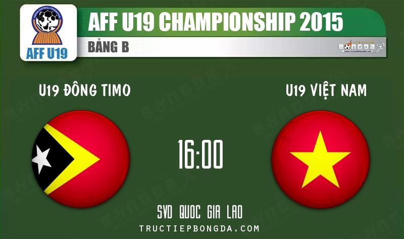 Xem lại: U19 Đông Timo vs U19 Việt Nam