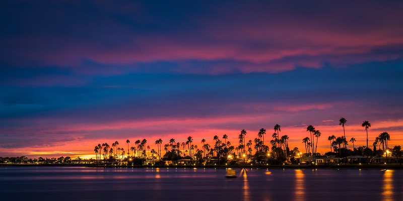 The Perfect Sunset at Mission Bay