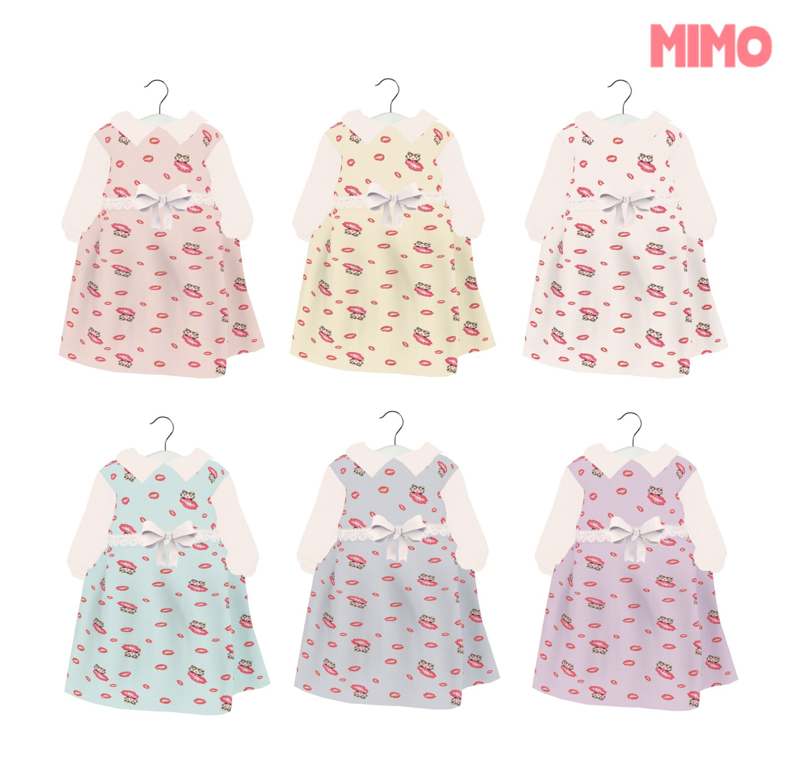 {Mimo} Cute Kiss Dress ToddleeDoo
