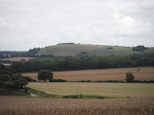 White Sheet Hill from Peckons Hill