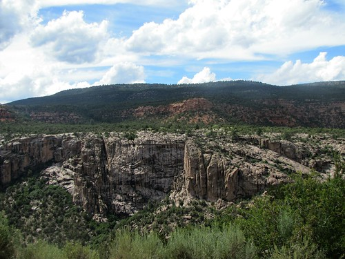 rural colorado canyon erosion geology oddity unaweepcanyon uncompahgreplateau geologicoddity