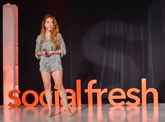 At #socialfresh @kireilauriel talks about the importance and use of Facebook groups.
