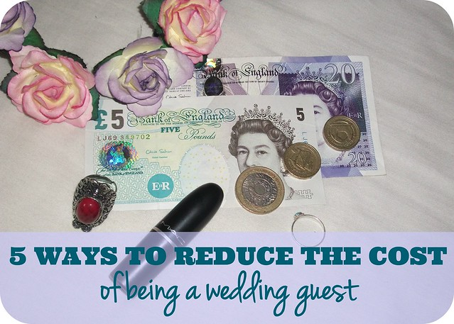 Five Ways To Reduce The Cost Of Being A Wedding Guest