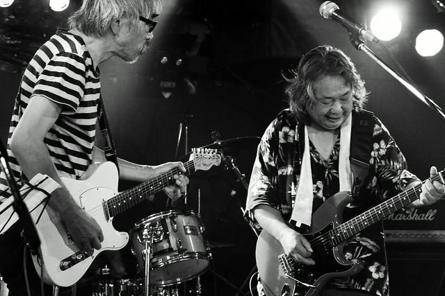 ファズの魔法使い live at Outbreak, Tokyo, 29 Sep 2015 - jam with Hideto Takenaka. 294