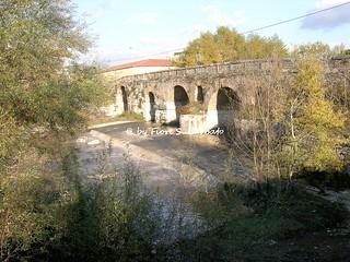 Benevento (BN), 2006, Il Ponte Leproso sul fiume Sabato.