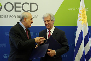 Official Visit of Tabaré Vázquez, .President of the Oriental Republic of Uruguay.to the OECD