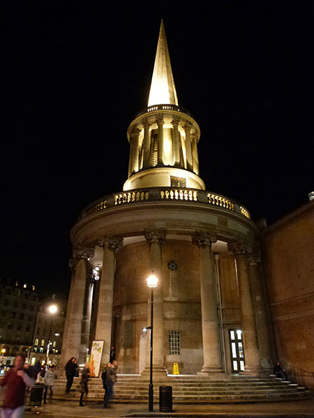 all soul's church