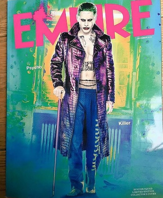 Jared Leto as The Joker in 2016's Suicide Squad movie.