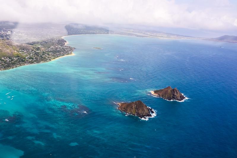 Mock Iki & Moku Nui & Kailua Bay