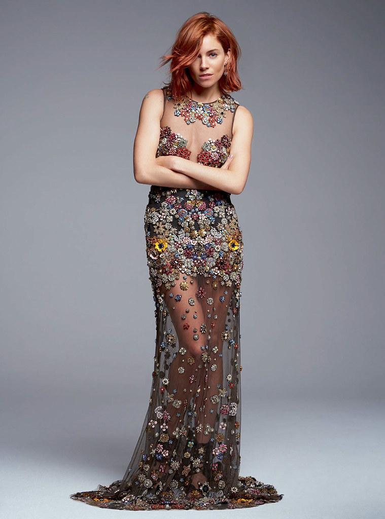 Сиенна Миллер — Фотосессия для «Harper's Bazaar» UK 2015 – 1