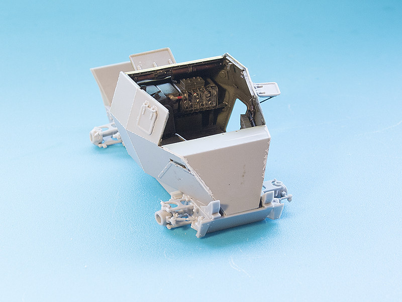 Projet Normandy : Dingo MK.III // Miniart // 1/35 22626965734_48e8412efd_c