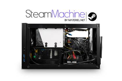 SteamMachine by Materiel.net