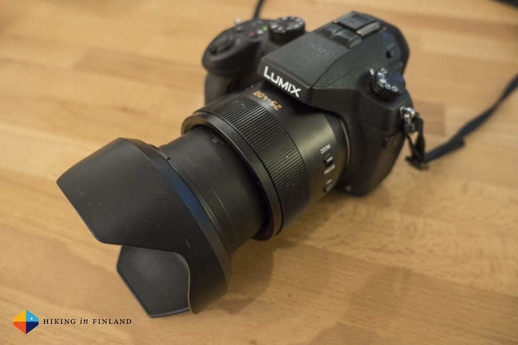 Panasonic DMC-FZ1000 On