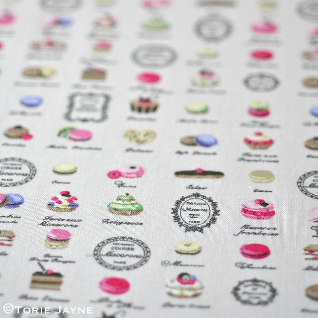 Cute macaron fabric 1