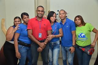 Jenifer Ramírez, Sonia Minyeti, Carlos Nuñez, Carolin Aracena, Kelvin Cabrera, Fatima Amador