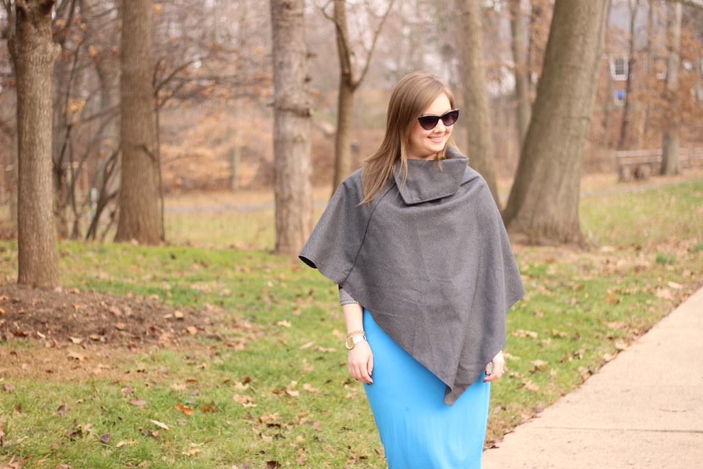 Dresslink poncho and pencil skirt (9)
