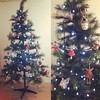 Our woodland themed Christmas Tree :blush::christmas_tree:
