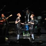 Fri, 04/12/2015 - 8:20pm - Our 11th holiday benefit concert, December 4 at The Beacon Theatre in New York City: Brandi Carlile & Friends with Dawes, Sharon Jones & The Dap-Kings, and Lucius. Photo by Neil Swanson/WFUV