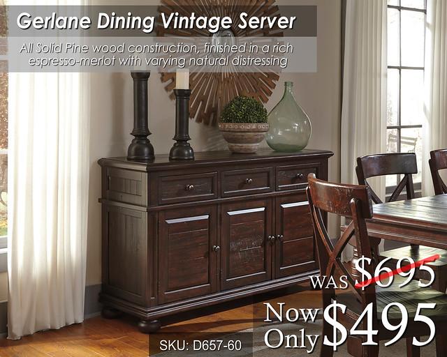 Gerlane Dining Server