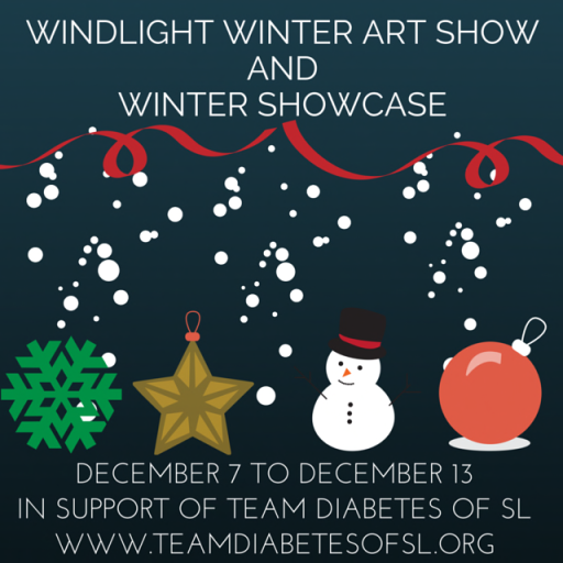 WINDLIGHT WINTER ART SHOW & WINTER SHOWCASE POSTER