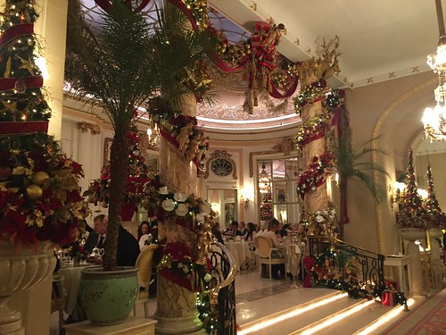 afternoon christmas tea The ritz london