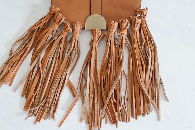 DIY Tasseled Saddle Bag