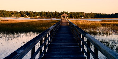 autumn sunset fall sc water river golden pier dock nikon south southcarolina carolina beaufort seagrass goldenhour lowcountry boatramp 2015 beaufortcounty nikon2485 batterycreek harborriver nikond610