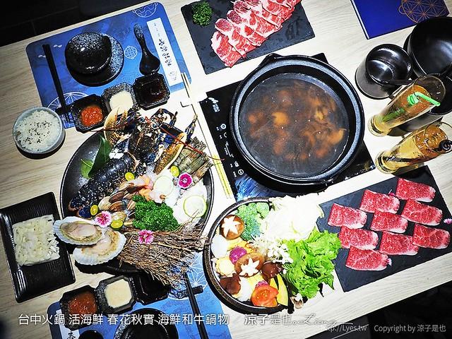 台中火鍋 活海鮮 春花秋實 海鮮和牛鍋物 65