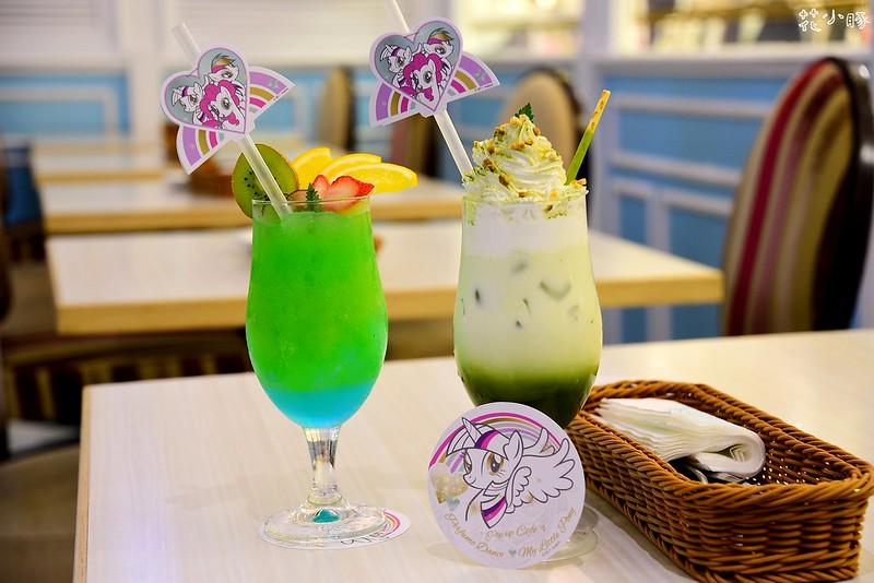 跳舞香水板橋下午茶推薦親子餐廳菜單彩虹小馬 (28)