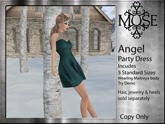 [MUSE] Angel Party Dress - V10