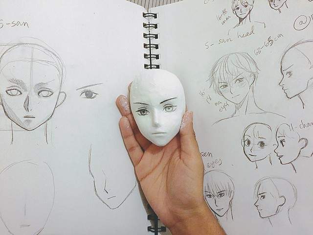 new anime boy head prototype madhudoll