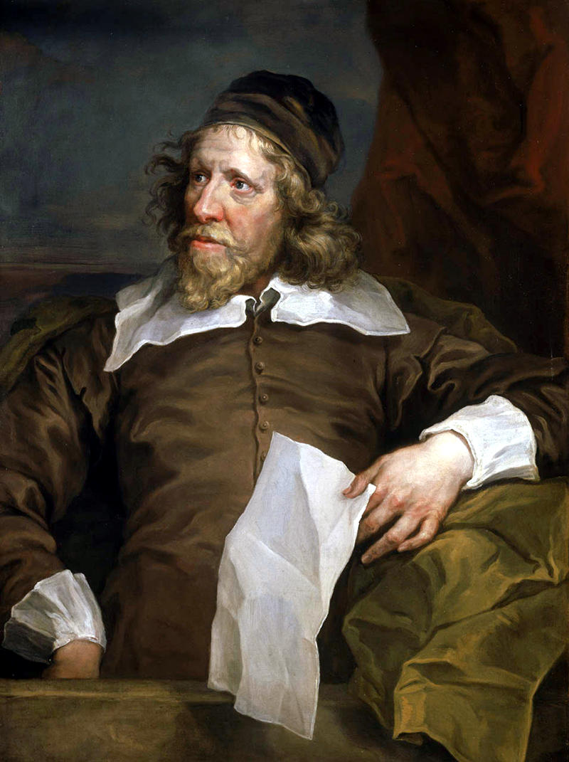 Portrait of Inigo Jones after Anthony van Dyck