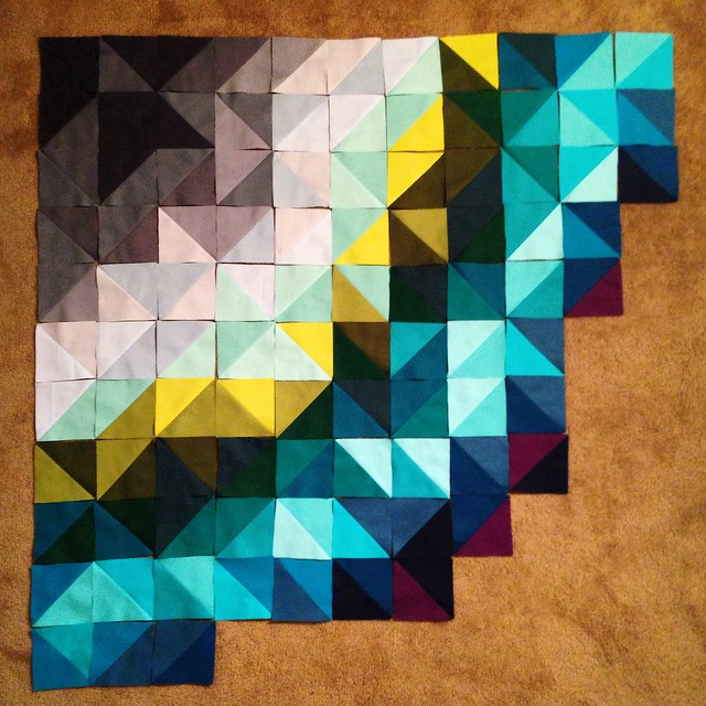 A and B Quilt