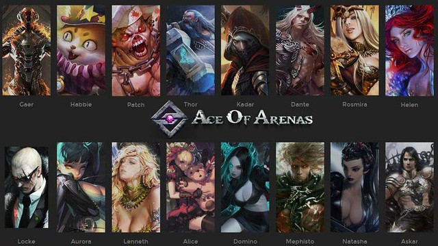 The options Ace of Arenas has in its main menu are quite large. All these  options are found on the left of screen. The crown icon is where you'll be  able to ...