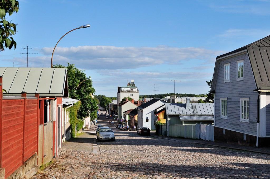 Porvoo - Südstadt, der Anfang der Moderne